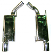 Bassani Race 2.5 Axle Back Exhaust System : 2005+ Mustang GT/GT500